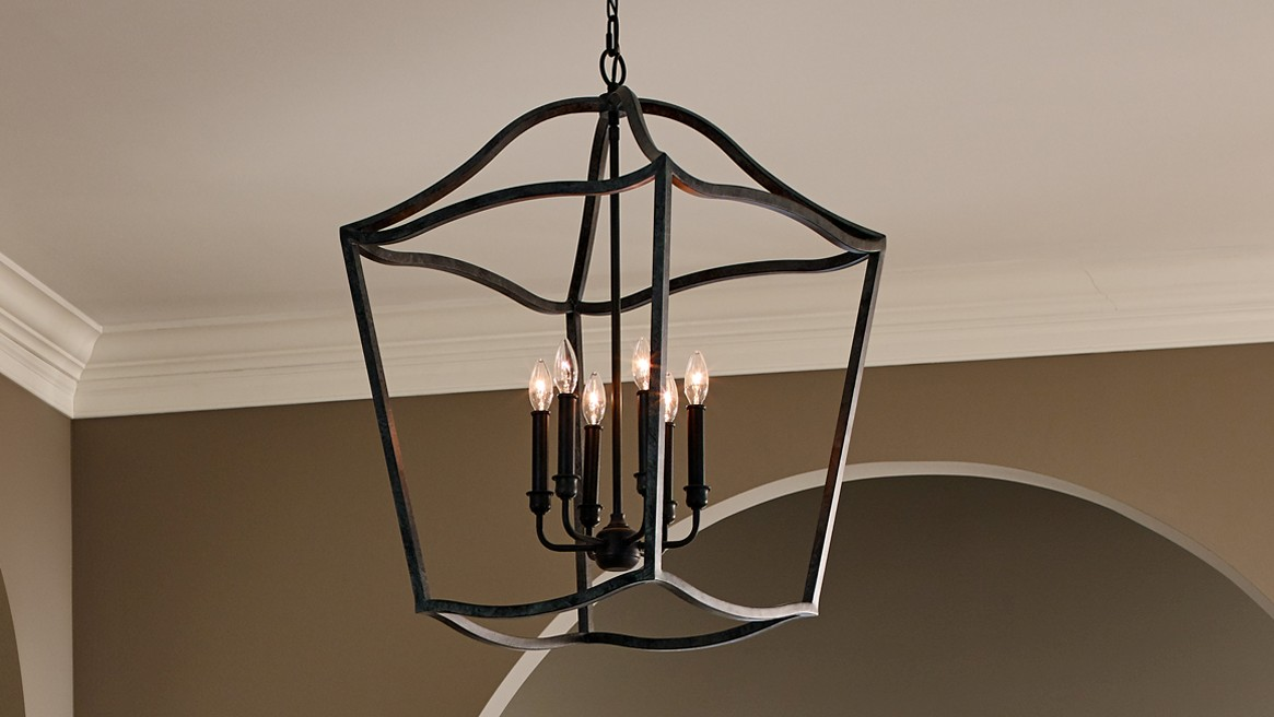 Foyer Hall Semi Flush Mts