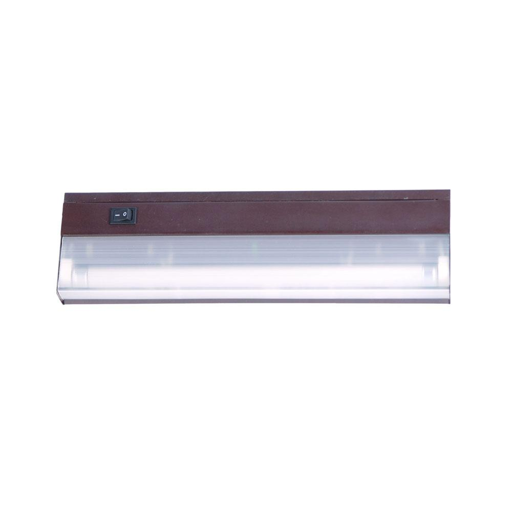 Fluorescent Undercabinets Collection 1-Light 12-inch Bronze Light ...