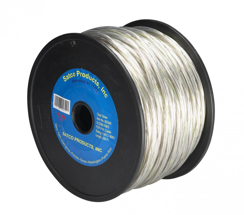 18/3 FEP PVC 600V High Temperature 105°C Teflon Wire – Tinned Copper ...
