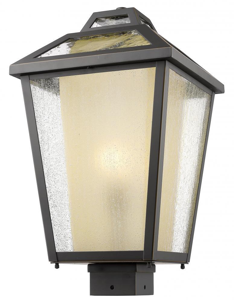 1 light outdoor post mount light 2fy99 lighting world inc 1 light outdoor post mount light aloadofball Choice Image
