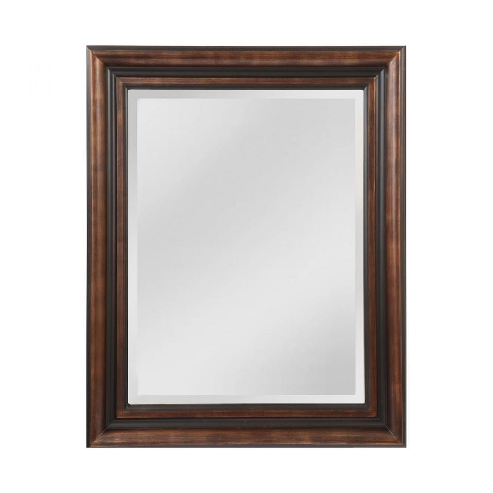Crown Molding Pattern Wood Frame Mirror : 49YP7 | Lighting World Inc.